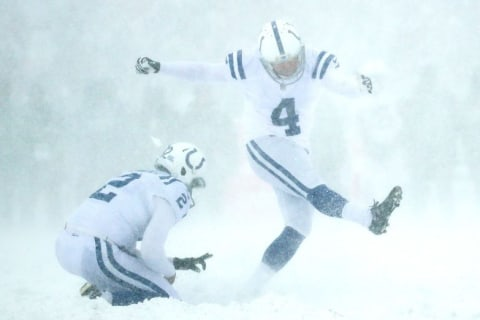 Colts got caught sending non-players on field to clear snow