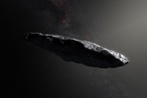Is this mysterious space rock actually an alien spaceship?