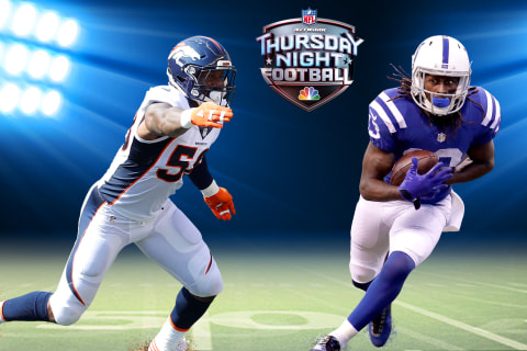 WATCH LIVE: Denver Broncos vs. Indianapolis Colts on TNF on NBC