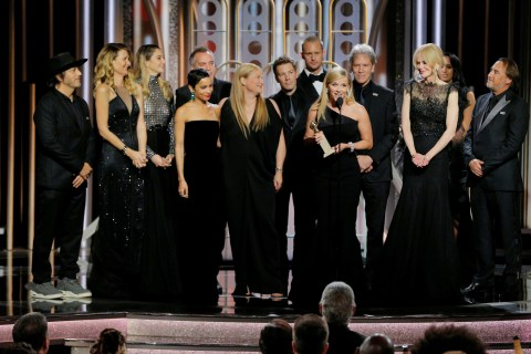 Black is the new black at Golden Globes