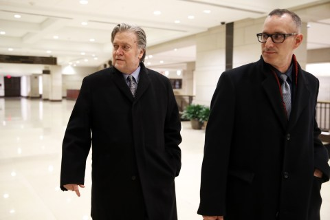 FBI agents visited Steve Bannon's home last week to discuss subpoena in Russia probe
