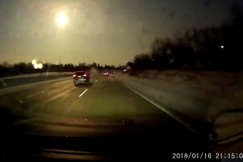 'Rare' meteor credited for bright light, rattling noise over Michigan