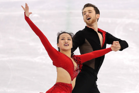 U.S.-born ice dancers Alex Gamelin, Yura Min fulfill Olympic dream — for South Korea