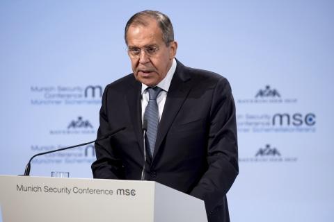 Russia's Lavrov calls FBI indictments 'just blabber'