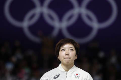 Olympic Moments: Japan's Nao Kodaira clinches a new skating record and more