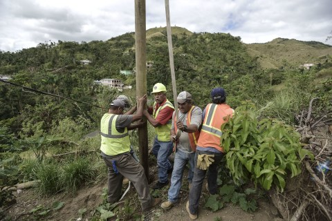 Why does restoring full power in Puerto Rico seem like a never-ending task?