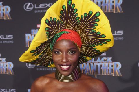 'Black Panther' actress Janeshia Adams-Ginyard talks living the stuntwoman life
