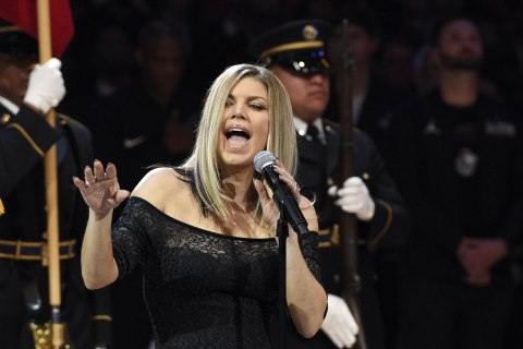 Fergie's anthem at the NBA All-Star Game was ... interesting