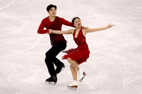 Ice dancing 'Shib Sibs' claim bronze at PyeongChang Olympics