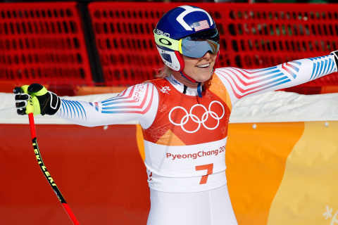 Lindsey Vonn wins bronze in likely final Olympic downhill race