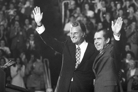 Billy Graham's legacy is the evangelical pursuit of politics instead of Jesus