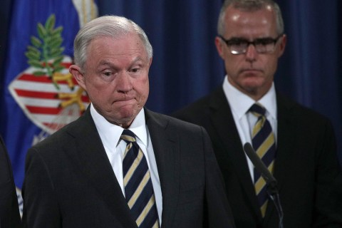 Sessions fires McCabe before he can retire
