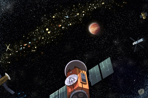 Alien satellites might offer a new way to find E.T.