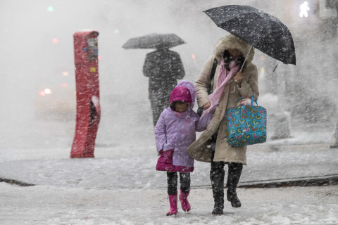 Fourth nor'easter of the month could dump a foot of snow on the East