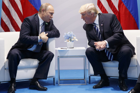 Trump's telephone diplomacy sends the wrong message to Putin