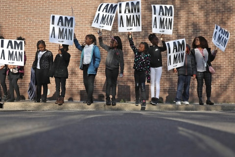 Tributes honor Martin Luther King Jr. 50 years after his assassination