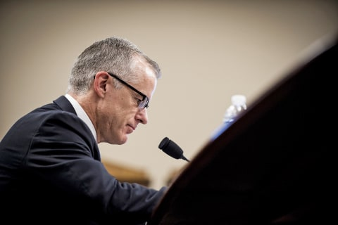 Inspector general recommends criminal investigation of Andrew McCabe