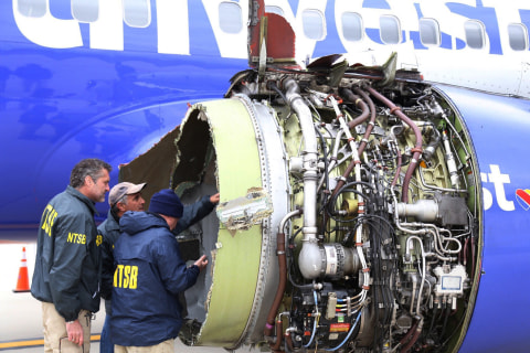 FAA will order engine inspections after deadly Southwest Airlines flight