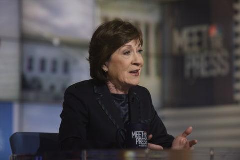 GOP Sen. Collins slams Comey for releasing memoir during Russia probe
