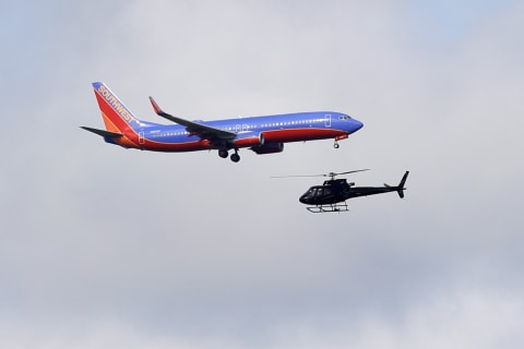 Southwest cancels dozens of flights for engine inspections after deadly midair explosion