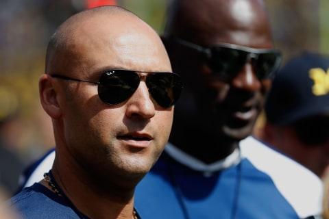 Derek Jeter calls reporter 'mentally weak' for asking about Marlins' tanking