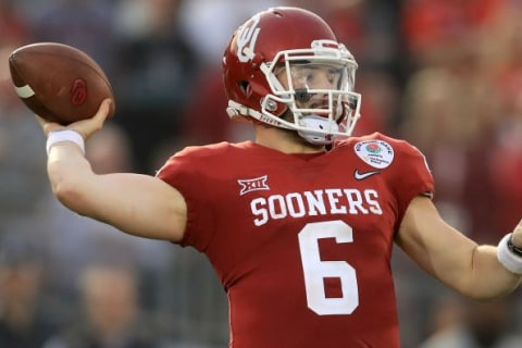 Browns select Baker Mayfield as top overall pick in NFL draft