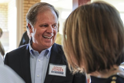 Democrat Doug Jones offers his party a recipe for success beyond Alabama