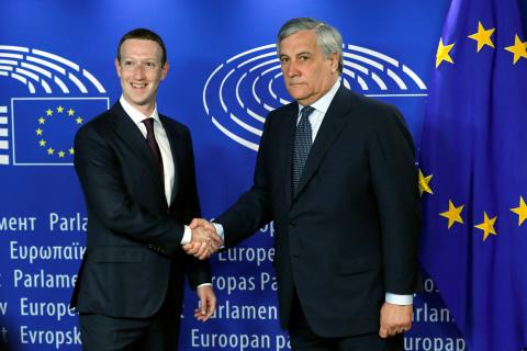 Facebook CEO Mark Zuckerberg faces tough questions from European lawmakers