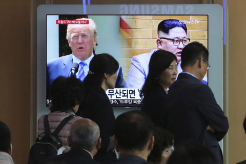 U.S. delegation holds talks with North Korean officials in DMZ