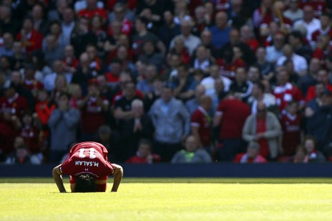 Champions League final: Liverpool star Mohamed Salah's unapologetic Muslim faith sends extraordinary message