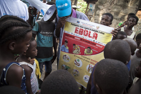 Winning hearts and minds in the newest Ebola zone