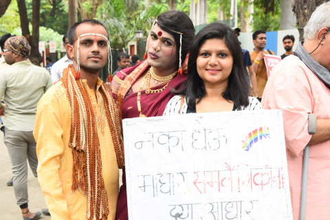 Meet the straight woman arranging same-sex marriages in India