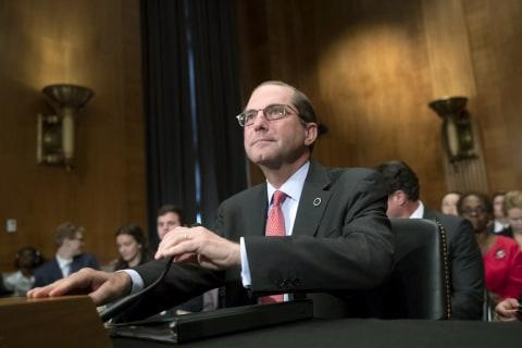 Senator Warren clashes with health secretary over drug-pricing plan