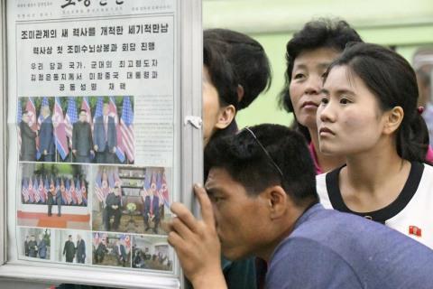 North Korea basks in 'peace-loving' Kim's summit performance