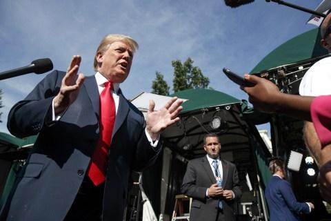 Forget a GOP civil war — the biggest fight plaguing Hill Republicans may be Trump vs. Trump