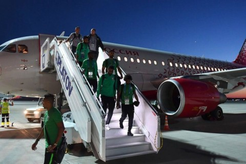 World Cup: Saudi team safe after plane caught fire mid-flight