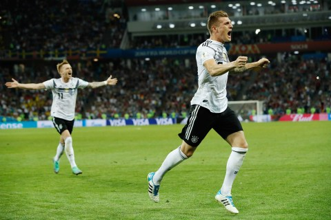 Germany stuns Sweden with last-minute winning goal