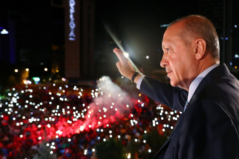Turkey enters new era with same man in charge after Erdogan election triumph