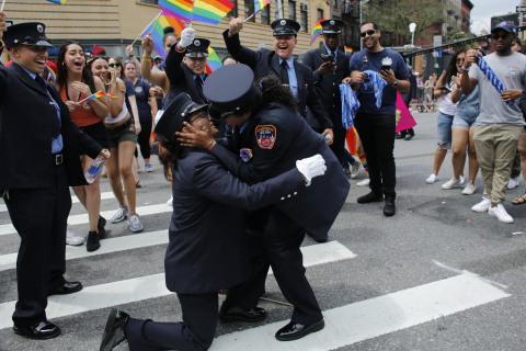 Parades celebrate Pride around the world