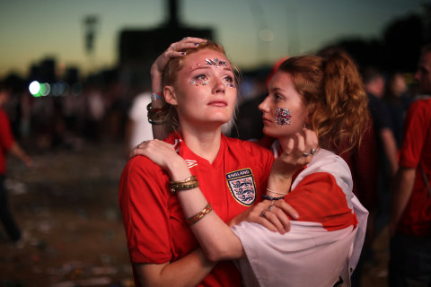 'A bit gloomy' in London as clouds descend on World Cup dream