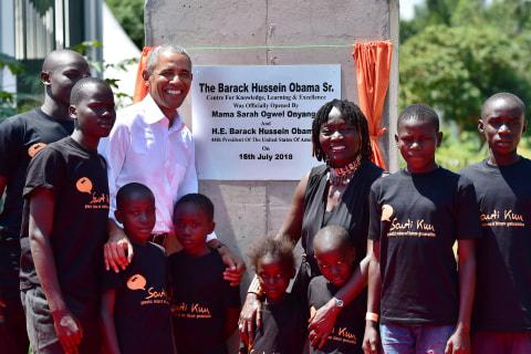 Barack Obama makes first post-presidency visit to Kenya