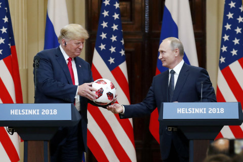 Why Russian officials were gleeful at Trump's diplomatic train wreck