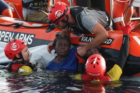 Libya coast guard left migrants to die in Mediterranean Sea, Aid group says