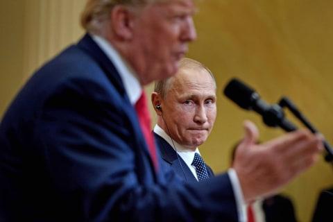 NBC News poll: Americans turn more anti-Russia under Trump