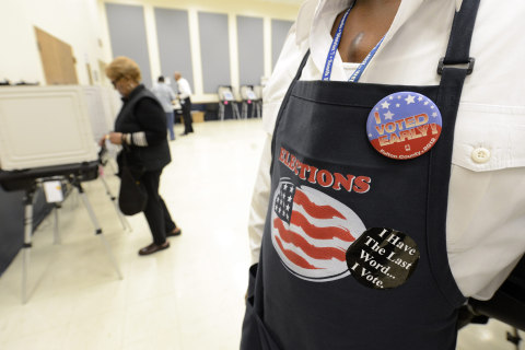 Voter purge frenzy after federal protections lifted, new report says