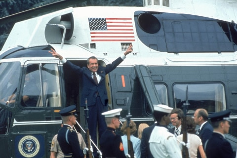 Trump's campaign to demonize Mueller's investigation echoes failed Watergate strategy used by Richard Nixon
