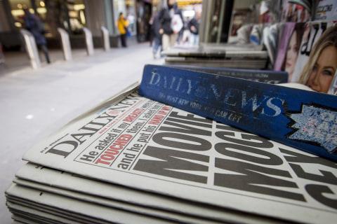 New York Daily News cuts half of its staff