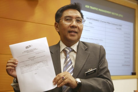 MH370 report: Malaysia civil aviation chief resigns over air traffic control lapses