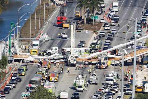 New video from right before Miami bridge collapse provides clues on cause