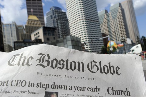 Newspapers across U.S. denounce Trump's media attacks with coordinated editorials